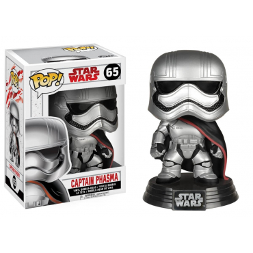 Star Wars - Figurine POP Captain Phasma
