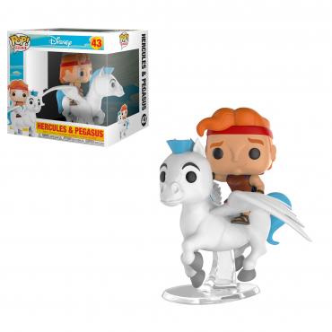 Disney: Hercules - Figurine POP Hercules Et Pegasus