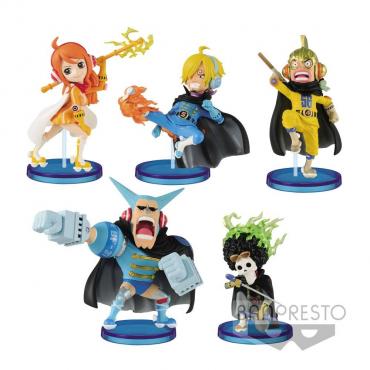 One Piece - Assortiment figurines WCF Chibi Mugiwara56 Vol. 2