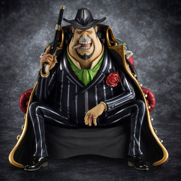 One Piece - Figurine Capone Gang Bege Excellent Model P.O.P S.O.C