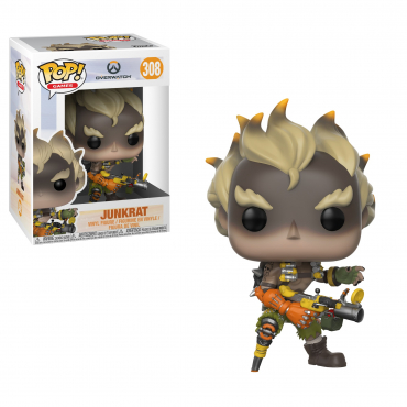 Overwatch - Figurine POP Junkrat