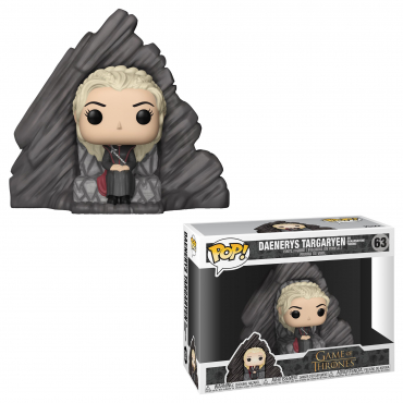 Game Of Thrones - Figurine POP Throne Et Daenerys