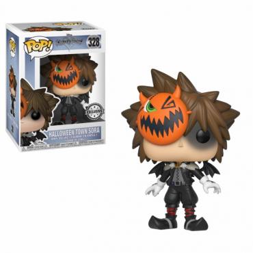 Kingdom Hearts - Figurine POP Sora Halloween Exclusif