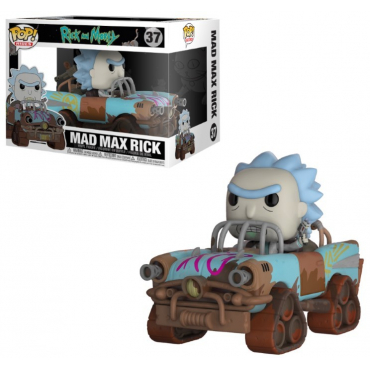 Rick Et Morty - Figurine POP Mad Mad Rick