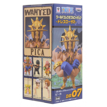 One Piece - Figurine Pica WCF Dressrosa 07