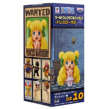 One Piece - Figurine Princess Mansherry WCF Dressrosa 10 Vol.2