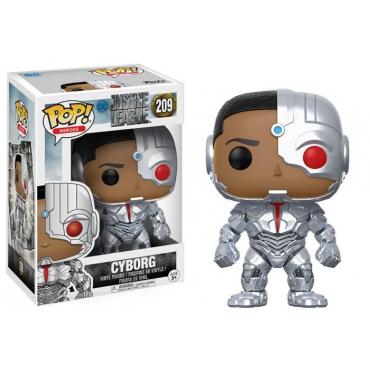 Justice League - Figurine POP Cyborg
