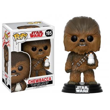 Star Wars - Figurine POP Chewbacca Et Porg