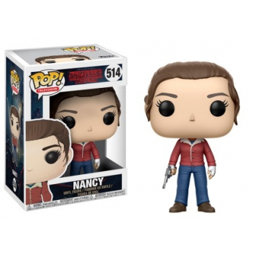 Stranger Things - Figurine POP Nancy With Gun