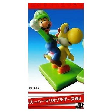 Super Mario Bros Wii - Figurine Luigi Et Yoshi