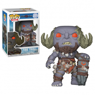 God Of War - Figurine POP Firetroll