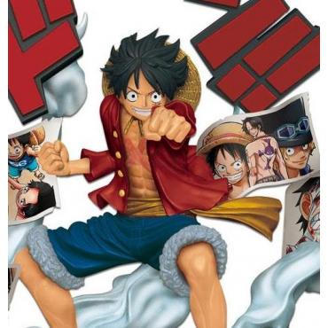 One Piece - Figurine Monkey D Luffy Story Age