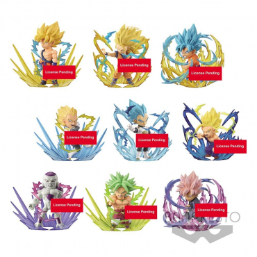 Dragon Ball Z - Pack Figurines WCF Assortiment