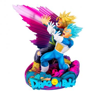 Dragon Ball Z - Figurine Vegeta Et Trunks Diorama Super Master Stars Piece