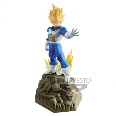 Dragon Ball Z - Figurine Vegeta Super Saiyan Absolute Perfection
