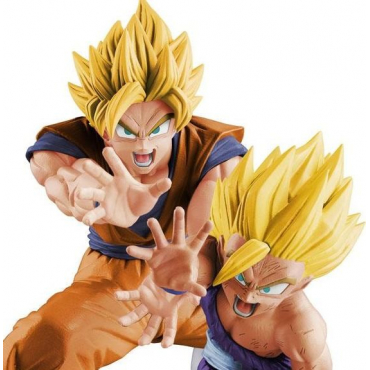 Dragon Ball Z - Figurine Son Goku Et Gohan Super Saiyan Vs Existence