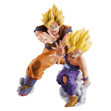 Dragon Ball Z - Figurine Son Goku Et Gohan Super Saiyan Vs Existence