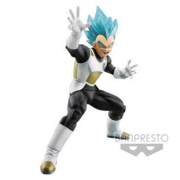 Dragon Ball Heroes - Figurine Vegeta Super Saiyan Blue T Art
