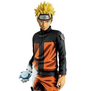 Naruto Shippuden - Figurine Uzumaki Naruto Grandista Shinobi Relations Manga Dimensions