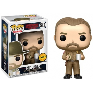 Stranger Things - Figurine POP Hopper Chase