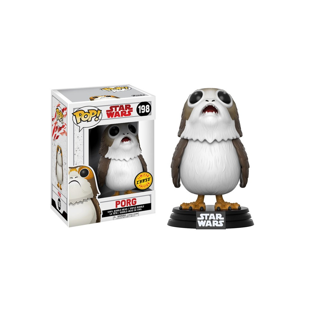 Star Wars - Figurine POP Porg Chase