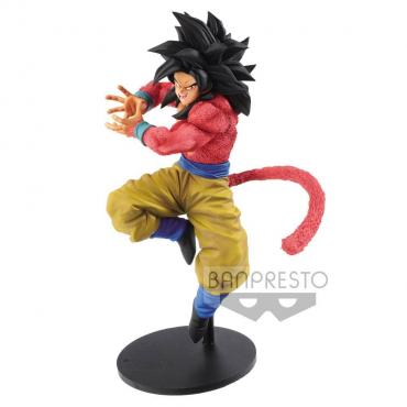 Dragon Ball Heroes - Figurine Son Goku Super Saiyan 4 Kamehameha Version
