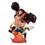 One Piece - Figurine Monkey D. Luffy Gear 4 Kong Gun Crimson Color Ver.