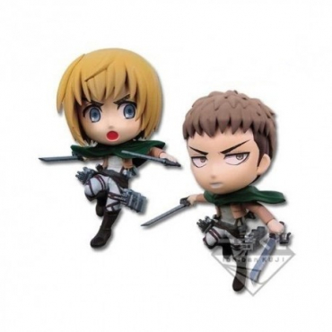 Attack On Titan - Figurine Armin Et Jan Ichiban Kuji Lot D