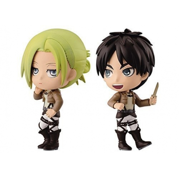 Attack On Titan - Figurine Annie Et Eren Ichiban Kuji Lot F
