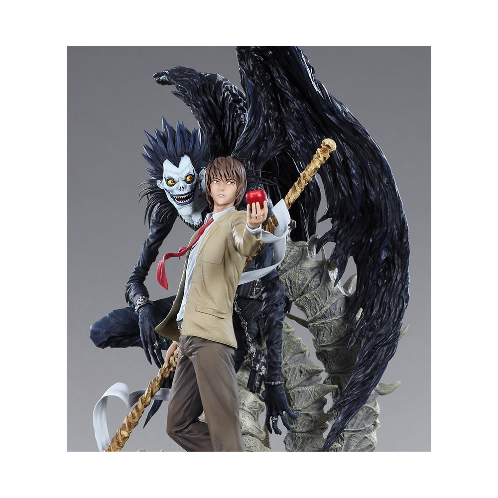 Death Note - Figurine Light Et Ryuk Diorama