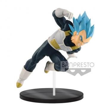 Dragon Ball Super - Figurine Vegeta Super Saiyan Blue God Ultimate Soldiers