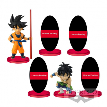 Dragon Ball Super - Pack Assortiment Figurines WCF Vol.1