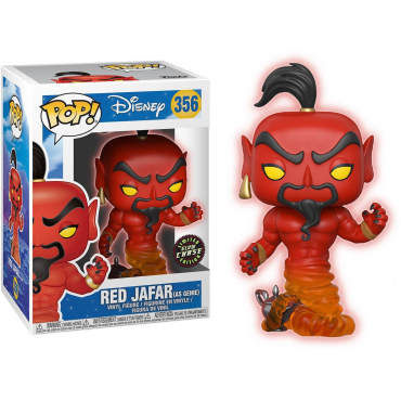 Aladin - Figurine POP Red Jafar Chase
