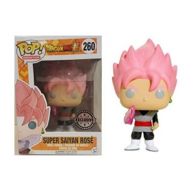 Dragon Ball Super - Figurine POP Black Goku Super Saiyan Rosé
