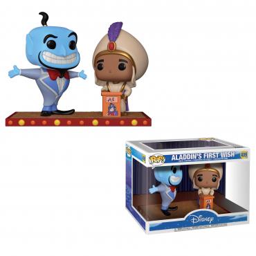 Aladdin - Figurine POP Genie Et Aladdin