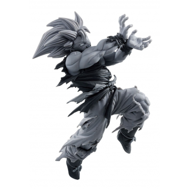 Dragon Ball Z - Figurine Son Goku Super Saiyan BWFC Version monochrome