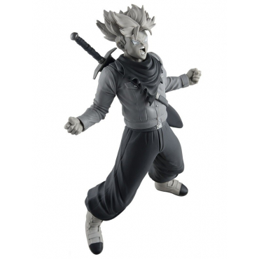 Dragon Ball Z - Figurine Trunks Super Saiyan BWFC Version Monochrome