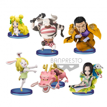 One Piece - Pack Figurines WCF Chibi Oriental Zodiac