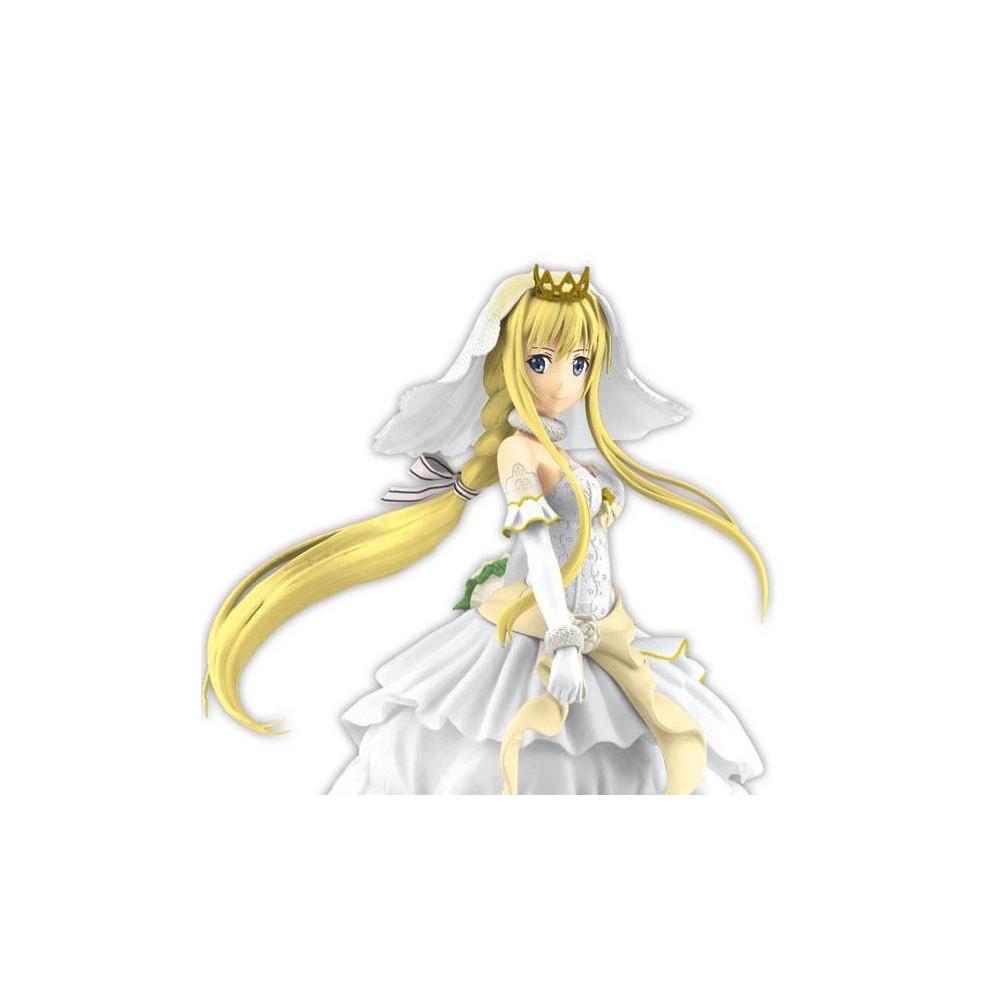 Sword Art Online Code Register - Figurine Alice Wedding EXQ