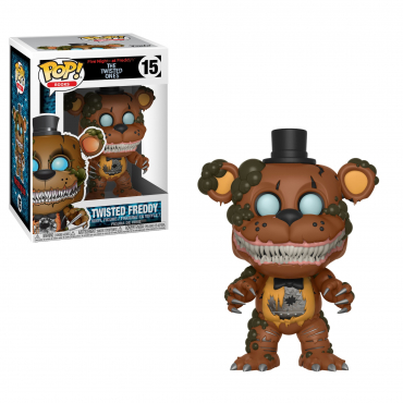 Five Night At Freddy's - Figurine POP Twisted Freddy