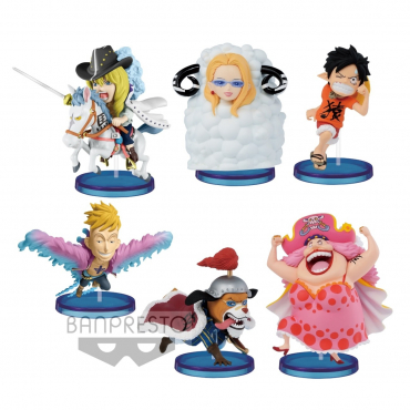 One Piece - Pack Figurines WCF Oriental Zodiac Volume 2