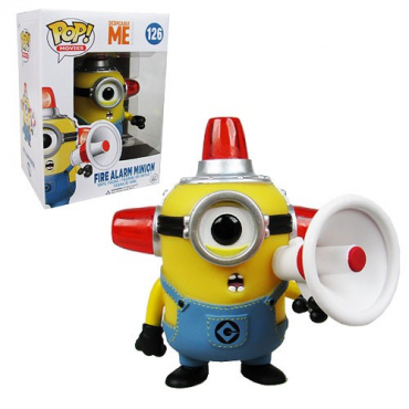 Les Minions - Figurine POP Fire Alarm Minion