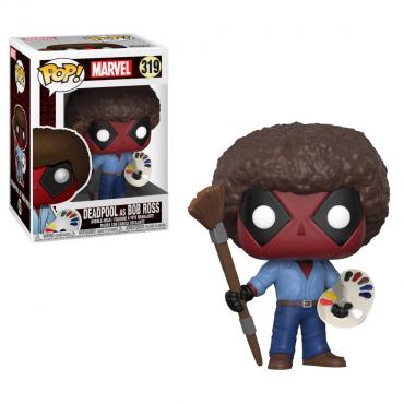 Deadpool - Figurine POP Deadpool As Bob Ross