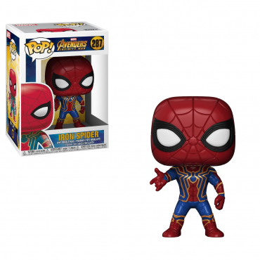 Spider Man - Figurine POP Iron Spider