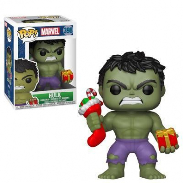 Marvel - Figurine POP Hulk Noël