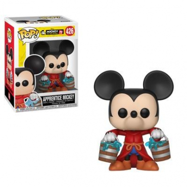 Mickey's 90TH Birthday - Figurine POP Apprenti Mickey