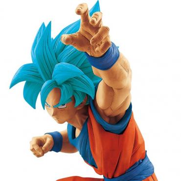 Dragon Ball Z - Figurine Son Goku Super Saiyan Blue Bug Size