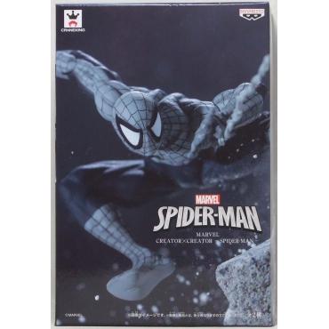 Spider Man - Figurine Spider Man Creator X Creator Monochrome Version