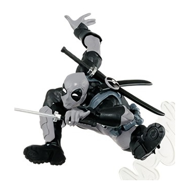 Deadpool - Figurine Deadpool Creator X Creator verion Monochrome