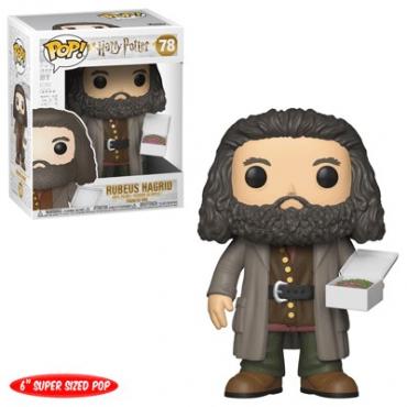 Harry Potter - Figurine POP Hagrid Avec Le gateau